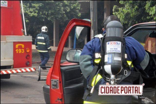 Incêndio no Hospital São Lucas