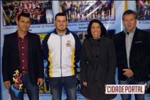 Abertura Jogos Escolares em Rancho Alegre d'Oeste
