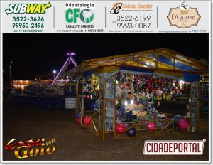 Expo-Goio 2017 pavilhão do comércio