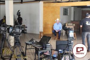 Programa 100% Caipira foi gravado em Goioerê nesta sábado, 30