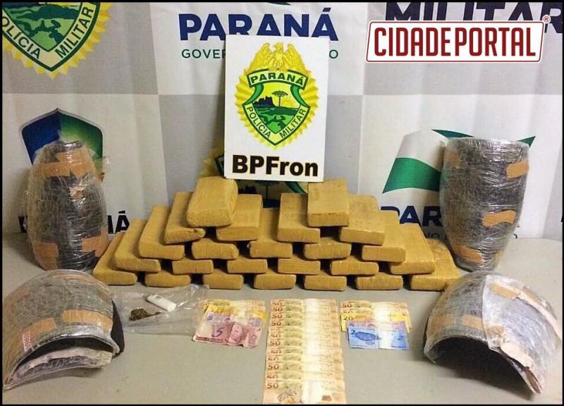 Operação Fronteira Blindada retira de circulação Maconha, Haxixi e Cocaína no feriado de Páscoa