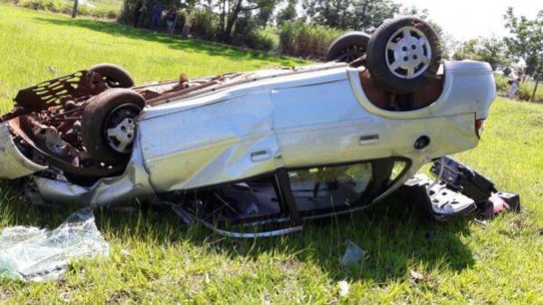 Grave acidente entre Cruzeiro do Oeste e Mariluz