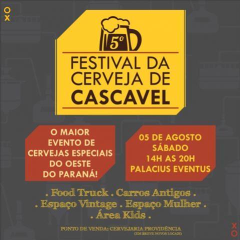 5° Festival da cerveja de Cascavel é voltado para toda família e mostra que mulher também entende de cerveja