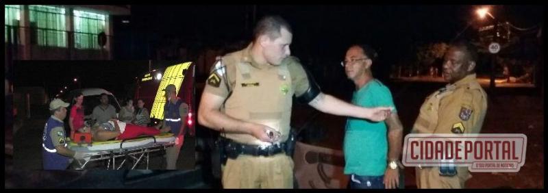 Policia Militar prende acusado de esfaquear ex-namorada em Campo Mourão