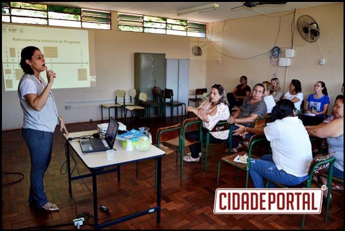 Professores da rede municipal de Farol participam de capacitação do programa Agrinho 2017