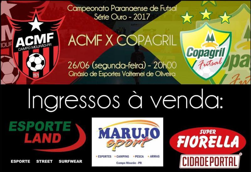 CHAVE OURO: Precisando vencer ACMF recebe o atual campeão Marechal Rondon nesta segunda-feira,