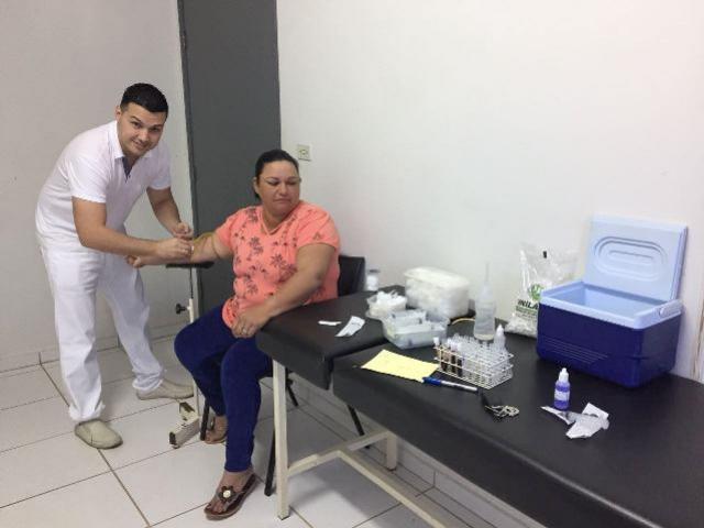 Exames laboratoriais começam a ser coletados no distrito de Paraná do Oeste