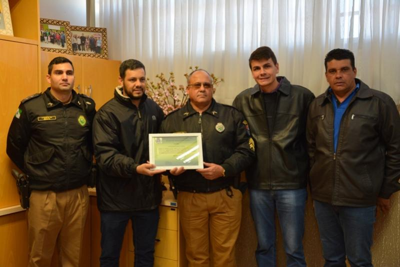 Sargento Faria recebe homenagem da prefeitura e câmara de vereadores de Moreira Sales pelos 35 anos de dedicação