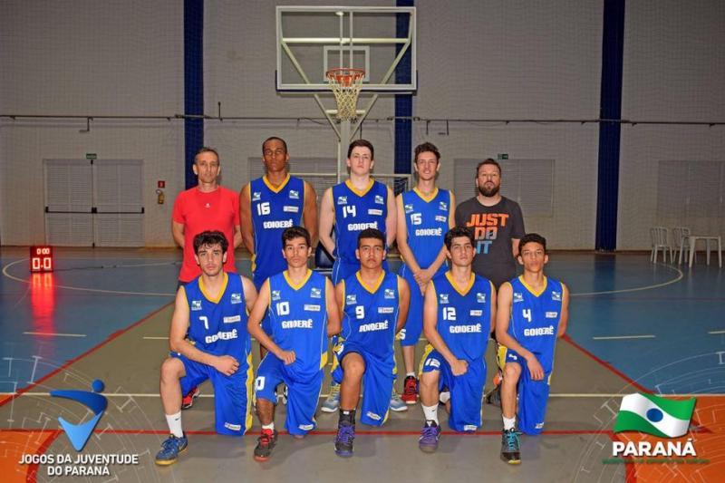 Em uma excelente campanha, a equipe goioerense terminou na quarta colocação na Fase Final dos Jogos da Juventude do Paraná