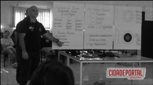 Palestra de introdução a defesa pessoal e condutas preventivas em situações de risco foi realizada no CRAS em Goioerê