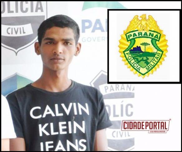 Polícia Militar prende outro fugitivo da cadeia de Goioerê com moto adulterada