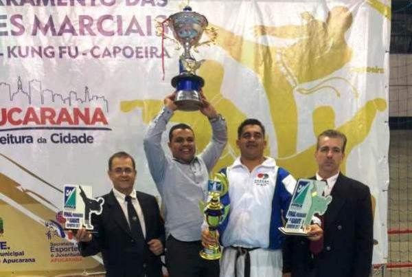 Karatê Águas Claras de destaca no Paranaense de Karatê final 2017