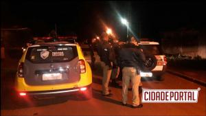 Policiais Militares da RPA e ROTAM de Campo Mourão prenderam três pessoas envolvidas com tráfico