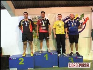 Equipe de Tênis de mesa de Goioerê se destacou na 4ª Etapa realizado em Campo Mourão