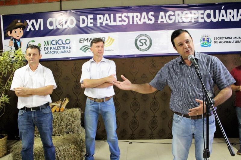 Palestra na Expo-Goio contou com a participação de Pedro Coelho, Fernando Nunes e Sérgio Fortis