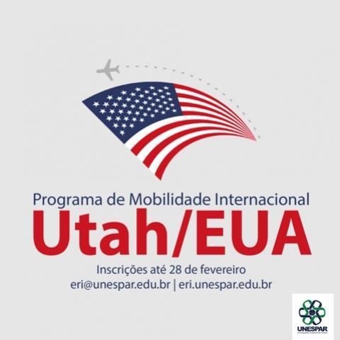 Unespar recebe inscrições para programa de mobilidade com Utah/EUA