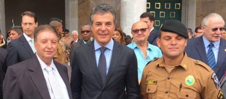Reinaldo Krachinski prestigiou formatura das novas turmas de policiais militares e bombeiros na capital do Estado