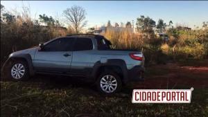 Policiais Rodoviários do posto de Iporã recuperam veículo tomado de assalto em Mariluz