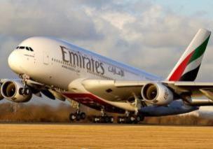 Emirates vai operar em São Paulo com a maior aeronave do mundo