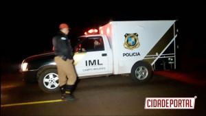 Motorista perde a vida em acidente após desviar de cavalos na pista entre Quinta do Sol e Fenix