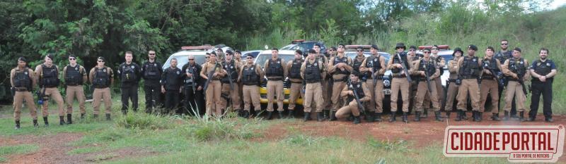 Receita Federal e Polícia Civil participam de capacitação de carabina 5,56 mm ministrada pelo BPFron em Assis Chateaubriand