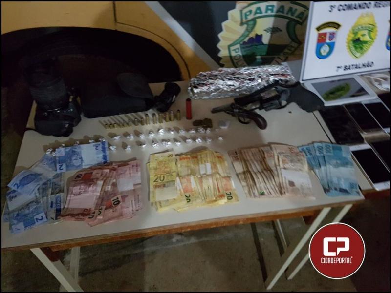 Operação conjunta com Policiais de Goioerê e Cruzeiro do Oeste recuperam produtos de roubo e prendem acusados