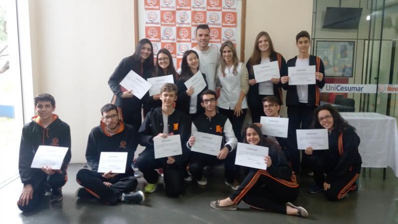 O Colégio Novo Mundo parabeniza os Alunos que se destacaram no Simulado do 2º Bimestre 2017