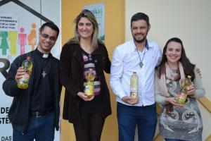 Mais de 2500 litros de óleo arrecadados na EXPO-SALES 2017 foram doados para entidades municipais