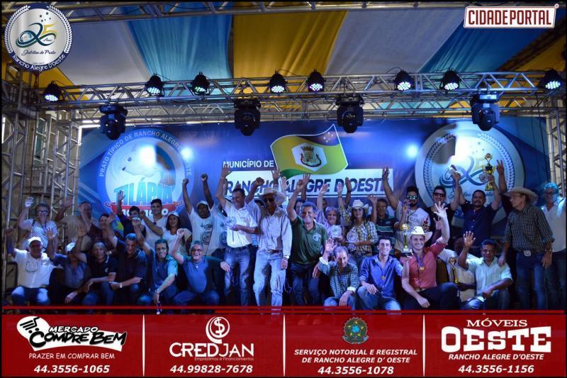 Festival de Música Sertaneja de Rancho Alegre do Oeste foi sucesso, Dupla Hugo e Fabinho de Goioerê foram os vencedores