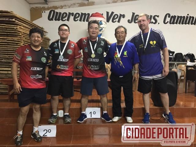 Vida Verão 2017: Goioerenses conquistam 1º e 3º lugar no tênis de mesa
