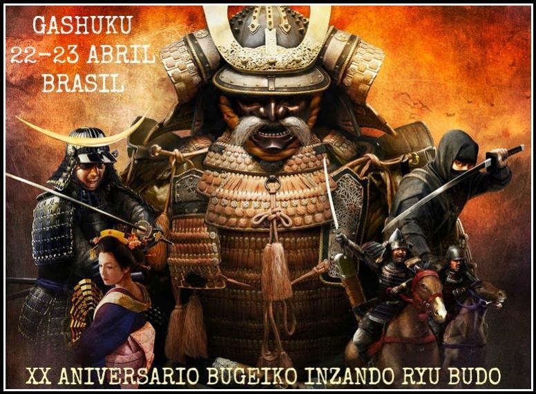 Aniversário Bugeiko Inzando Ryu Budo será comemorado nos dias 22 e 23 em um evento reservado para membros