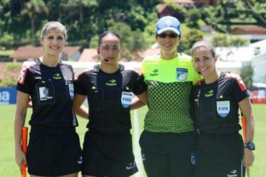 Edina Alves apitará a final do Brasileiro Feminino A1