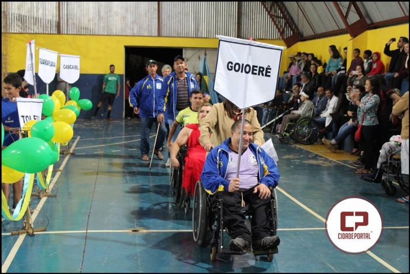 Abertura dos Jogos PARA-DESPORTIVOS emociona público no Ginásio de Esportes da Vila Guaíra