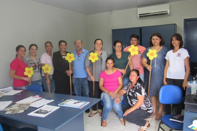 Reunião em Rancho Alegre do Oeste discute atividades para o 18 de maio - Dia de combate a exploração sexual de crianças