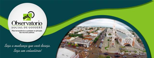Cada vereador de Goioerê custa aos cofres públicos R$ 19.407,38 por mês de acordo com o Observatório Social