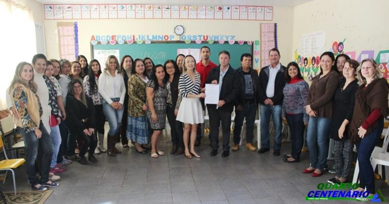 Secretaria de Educação de Quarto Centenário lança o Prêmio Professor Destaque