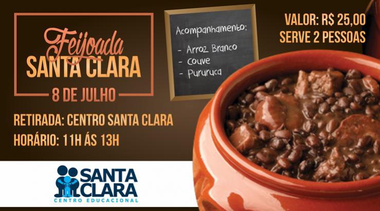 Convites para a tradicional Feijoada Santa Clara já estão a venda, não deixe para a última hora