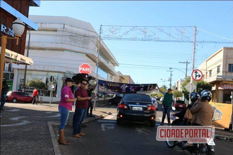 Pedágio movimenta os convites da Expo-Goio - garanta o seu On-line
