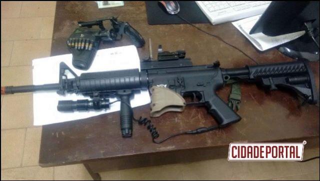 Armas e Drogas são apreendidos e veículos recuperados por Policiais do 7ºBPM neste fim de semana