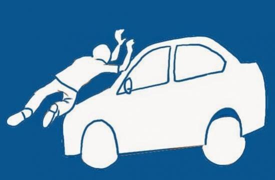 Motorista atropela uma pessoa na av. Tiradentes, presta socorro como próprio veículo e informa autoridades