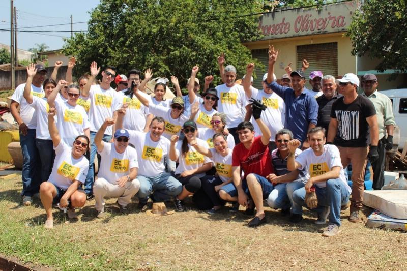 Ecoponto na Vila Guaíra supera expectativas em volume de produtos inservíveis recolhidos
