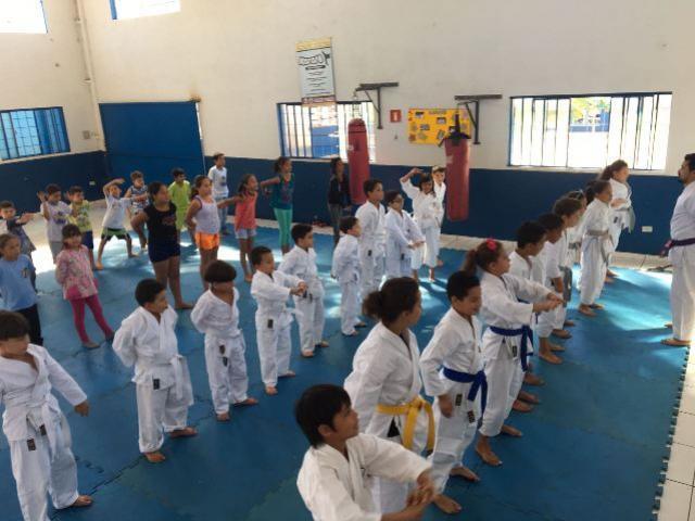 Projeto Cidadãos do Futuro atendeu os alunos com atividades recreativas em Quarto Centenário