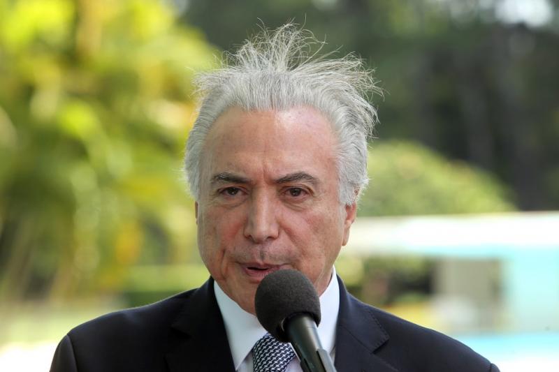 Temer anuncia nesta terça em Alagoas, reduto de Renan, recursos contra a seca