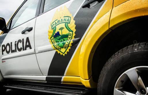 Policiais Militares da RPA e Rotam prendem uma pessoa tumultuando a festa da Vaca Atolada em Boa Esperança