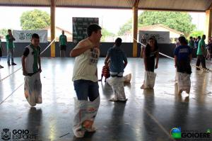 Dezenas de crianças e adolescentes do distrito de Jacaratiá participaram do projeto manhã recreativa
