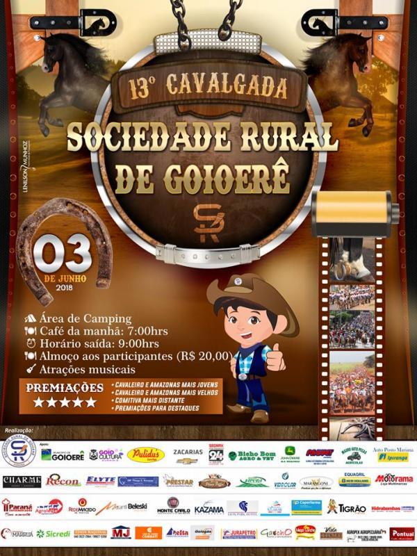 13ª Cavalgada da Sociedade Rural de Goioerê