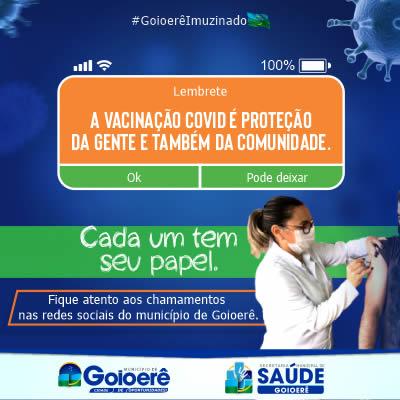 Prefeitura de goioerê - Vacina Covid