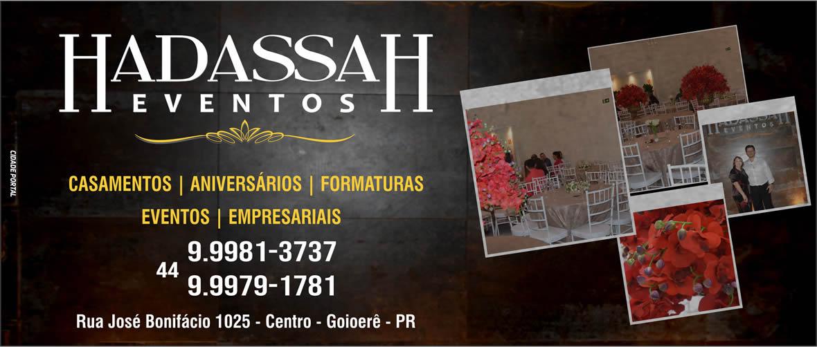 Hadassah Eventos - Pagina de entrada