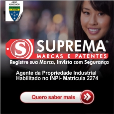 Suprema Marcas e Patentes - Principal Notícias Região -  Interno Notícias gerais