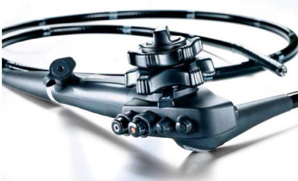 Qual aparelho é utilizado para endoscopia?